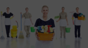 Members of our exemplary cleaning team, ready to beautify your home.