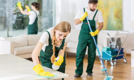 What do house cleaners do?