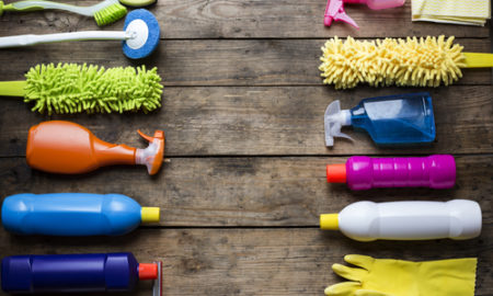 What is a professional house cleaning checklist