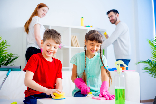 How do I help my child with housework