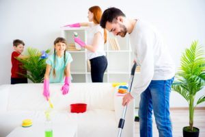 How do I motivate my child to clean