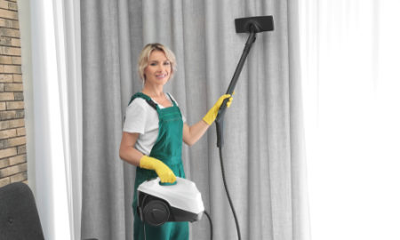 What is the best way to clean curtains